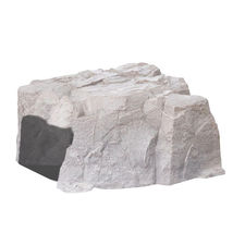Click here to see MowRo ROCK-ST MowRo ROCK-ST Faux Landscape Rock Cover for MowRo Mowers, Sandstone Tan