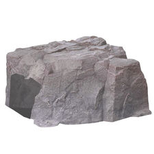 Click here to see Redback ROCK-RB MowRo ROCK-RB Faux Landscape Rock Cover for MowRo Mowers, Riverbed Brown
