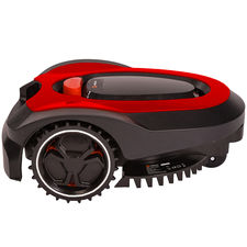 Click here to see   MowRo RM18- RED ROBOT LAWN MOWER WITH INSTALL KIT 28 VOLT 2.0AMP BATTERY
