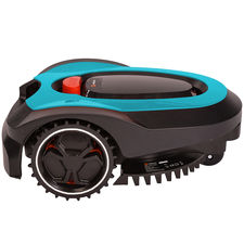 Click here to see   MowRo RM18- BLUE ROBOT LAWN MOWER WITH INSTALL KIT 28 VOLT 2.0AMP BATTERY