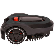 Click here to see   MowRo RM18- BLACK ROBOT LAWN MOWER WITH INSTALL KIT 28 VOLT 2.0AMP BATTERY