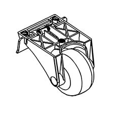 Click here to see MowRo RM18-03 MowRo RM18-03 Rear Wheel Assembly for RM18