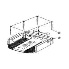 Click here to see MowRo  MowRo RM18-20 Lower Base Assembly of RM18 Docking Station