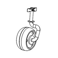 Click here to see MowRo RM24A-04 MowRo RM24A-04 Front Wheel Assembly for RM24