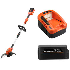 Click here to see Redback E321D-KIT6A MowRo 40V Line Trimmer Kit By Redback - With Battery and Charger - E312D-KIT6A