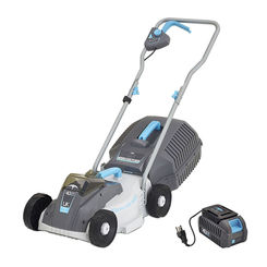 Click here to see Swift 6970601802003 Swift EB132CP Cordless 40V Compact Lawn Mower with Battery and Charger