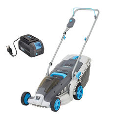 Click here to see Swift EB137CD2 Swift EB137CD2 Cordless 40V Wide Lawn Mower with Battery and Charger