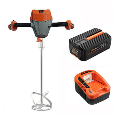 Click here to see Redback E808C-MKIT Redback E808C-MKIT 40V Mixing Blade with 5.0A Charger and 4.0A Battery
