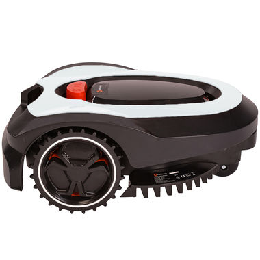 Click here to see MowRo  MowRo RM18-WHITE 28V Robot Lawn Mower with Install Kit and 2.0Ah Battery