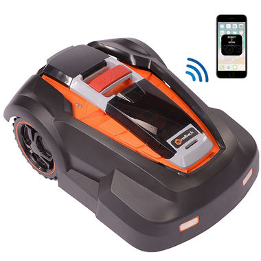 Click here to see MowRo RM24-SMRT MowRo RM24-SMRT 28V App-Enabled Robot Lawn Mower with Install Kit and 4.0A Battery