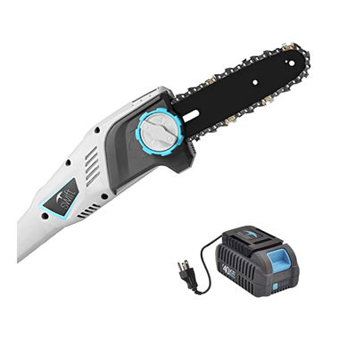 Click here to see Swift EB608D2 Swift EB608D2 40V Pole Chainsaw with Battery & Charger