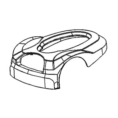 Click here to see MowRo RM18-07 MowRo RM18-07 Outer Cover Assembly for RM18