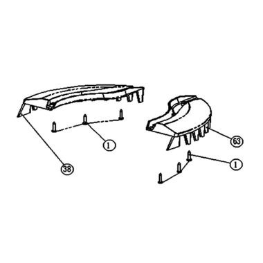 Click here to see MowRo RM18-13 MowRo RM18-13 Comb Board Assembly for RM18
