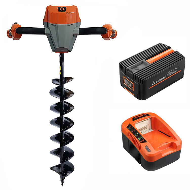 View 2 of Redback E808C-EKIT Redback 40V Earth Auger with 5A Charger and 4Ah Battery - E808C-EKIT