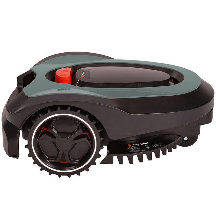 View 2 of MowRo RM18-GRAY MowRo RM18-GRAY 28V Robot Lawn Mower with Install Kit and 2.0Ah Battery