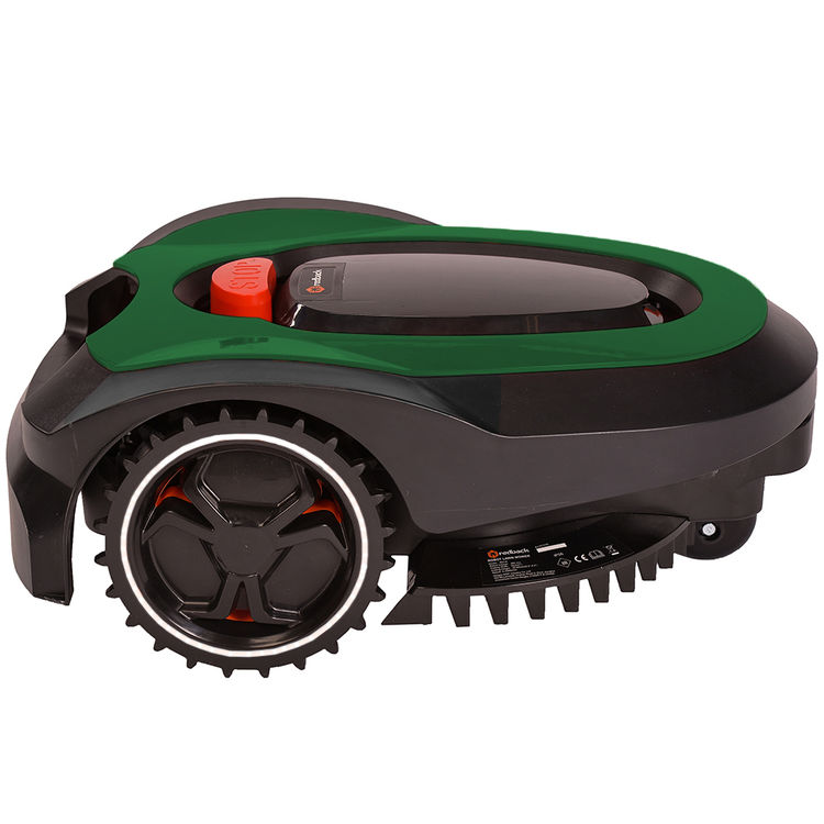 View 2 of MowRo RM18-GREEN MowRo RM18-GREEN 28V Robot Lawn Mower with Install Kit and 2.0Ah Battery