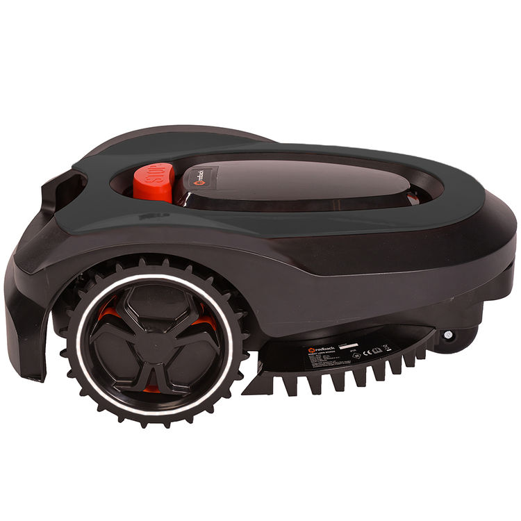 View 2 of   MowRo RM18- BLACK ROBOT LAWN MOWER WITH INSTALL KIT 28 VOLT 2.0AMP BATTERY