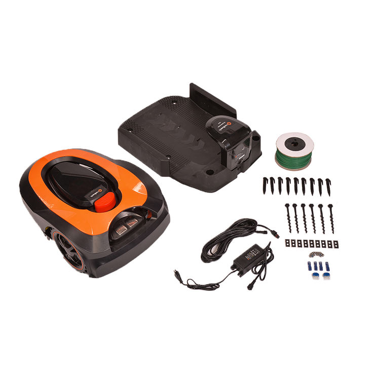 View 12 of   MowRo Robot Lawn Mower by Redback w/ Install Kit, 7