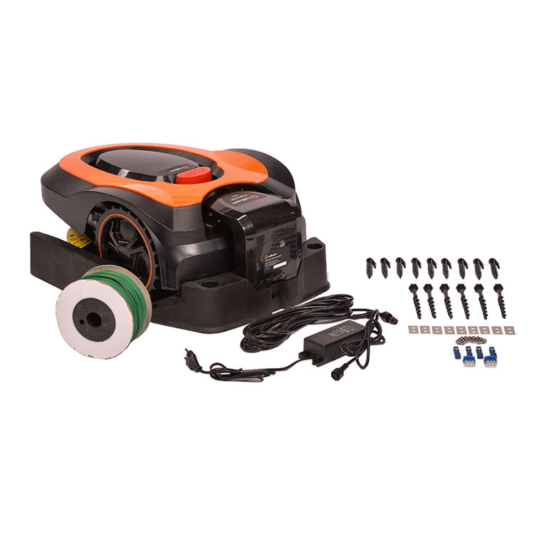 View 13 of   MowRo Robot Lawn Mower by Redback w/ Install Kit, 7