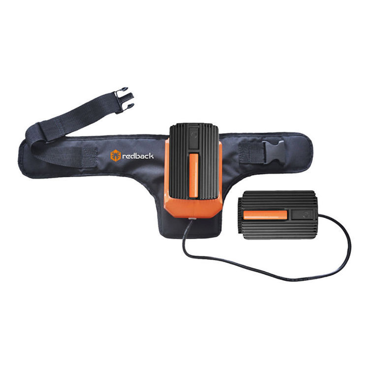 View 7 of Redback E312D-KIT6AWB Redback E312D-KIT4AWB Line Trimmer & Edger W/ 5A Charger, 4AH Battery, and Power Belt