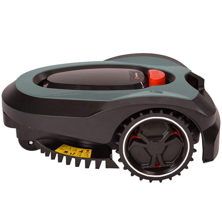 View 9 of MowRo RM18-GRAY MowRo RM18-GRAY 28V Robot Lawn Mower with Install Kit and 2.0Ah Battery
