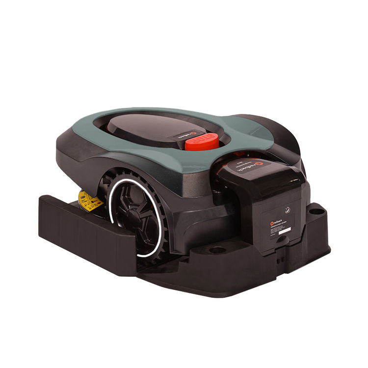 View 7 of MowRo RM18-GRAY MowRo RM18-GRAY 28V Robot Lawn Mower with Install Kit and 2.0Ah Battery