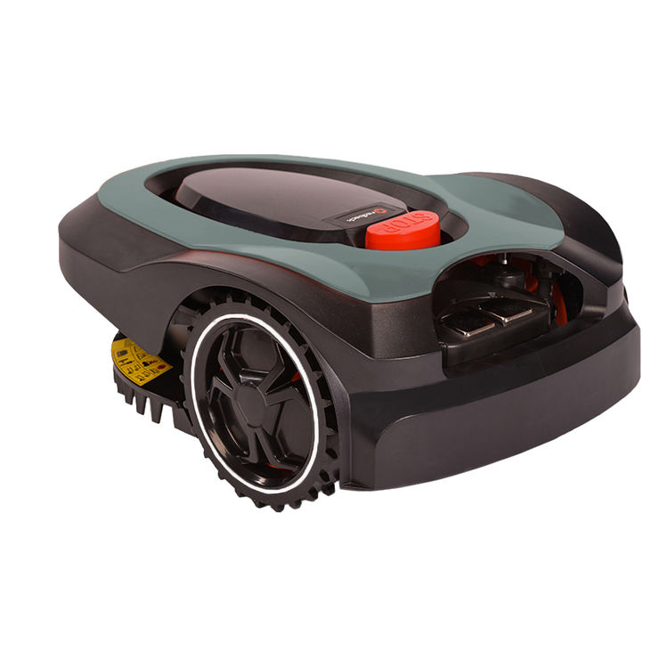 View 3 of MowRo RM18-GRAY MowRo RM18-GRAY 28V Robot Lawn Mower with Install Kit and 2.0Ah Battery