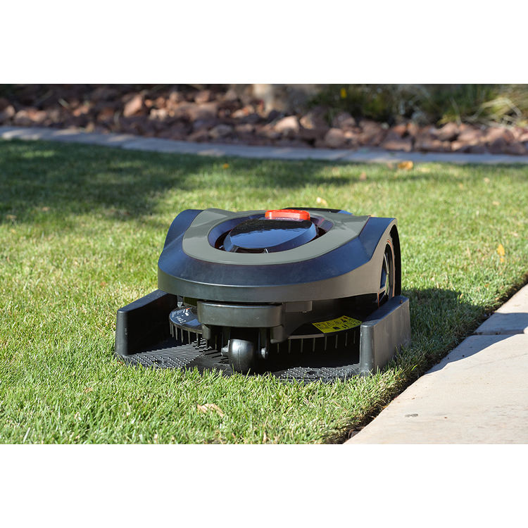 View 10 of MowRo RM18-GRAY MowRo RM18-GRAY 28V Robot Lawn Mower with Install Kit and 2.0Ah Battery