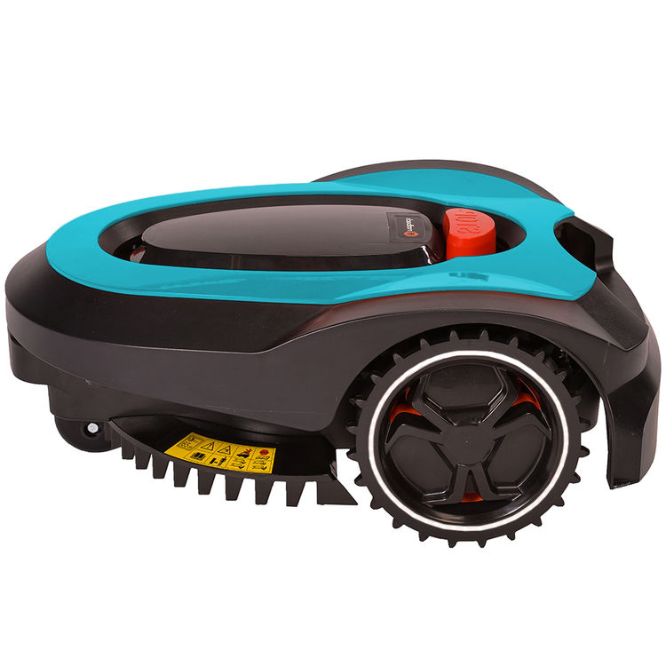 View 7 of   MowRo RM18- BLUE ROBOT LAWN MOWER WITH INSTALL KIT 28 VOLT 2.0AMP BATTERY