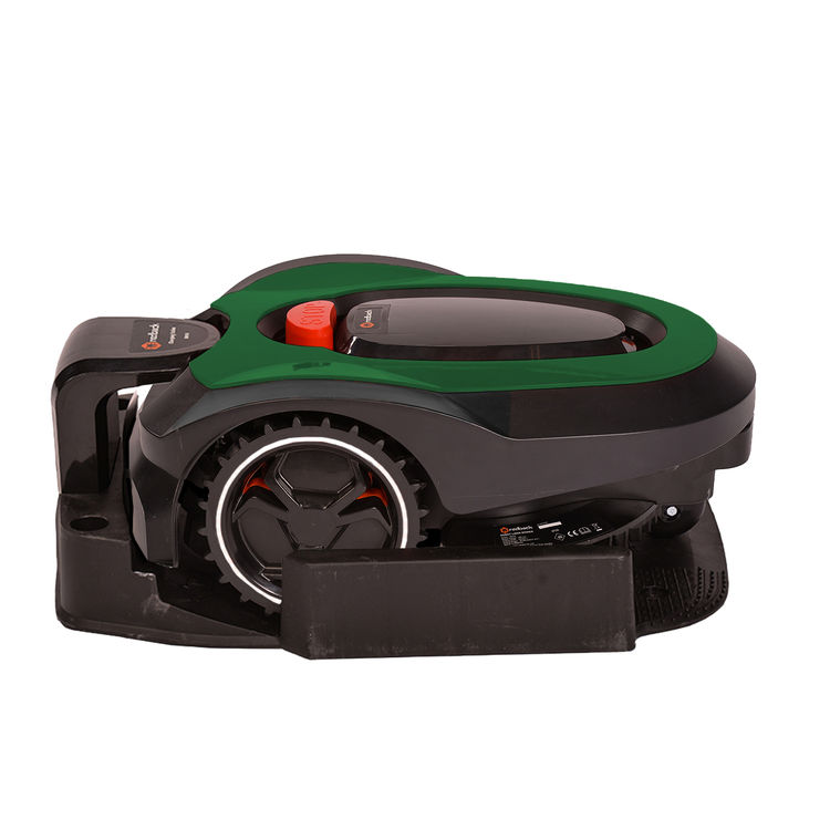 View 4 of MowRo RM18-GREEN MowRo RM18-GREEN 28V Robot Lawn Mower with Install Kit and 2.0Ah Battery
