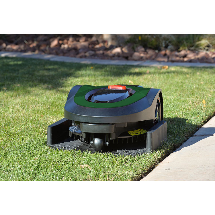 View 9 of MowRo RM18-GREEN MowRo RM18-GREEN 28V Robot Lawn Mower with Install Kit and 2.0Ah Battery