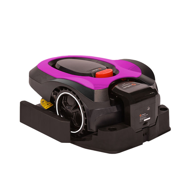 View 8 of   MowRo RM18- PINK ROBOT LAWN MOWER WITH INSTALL KIT 28 VOLT 2.0AMP BATTERY