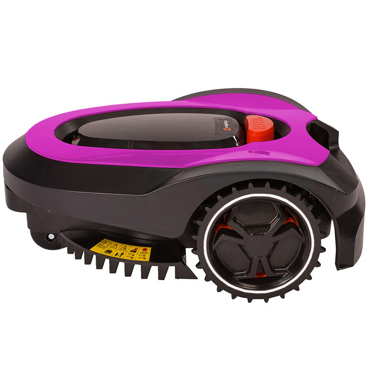 View 7 of   MowRo RM18- PINK ROBOT LAWN MOWER WITH INSTALL KIT 28 VOLT 2.0AMP BATTERY