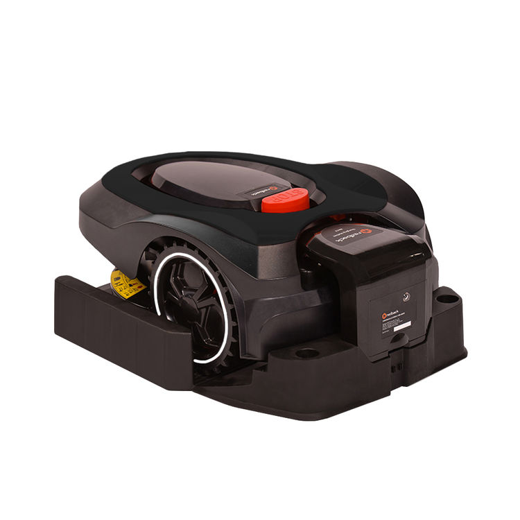 View 8 of   MowRo RM18- BLACK ROBOT LAWN MOWER WITH INSTALL KIT 28 VOLT 2.0AMP BATTERY