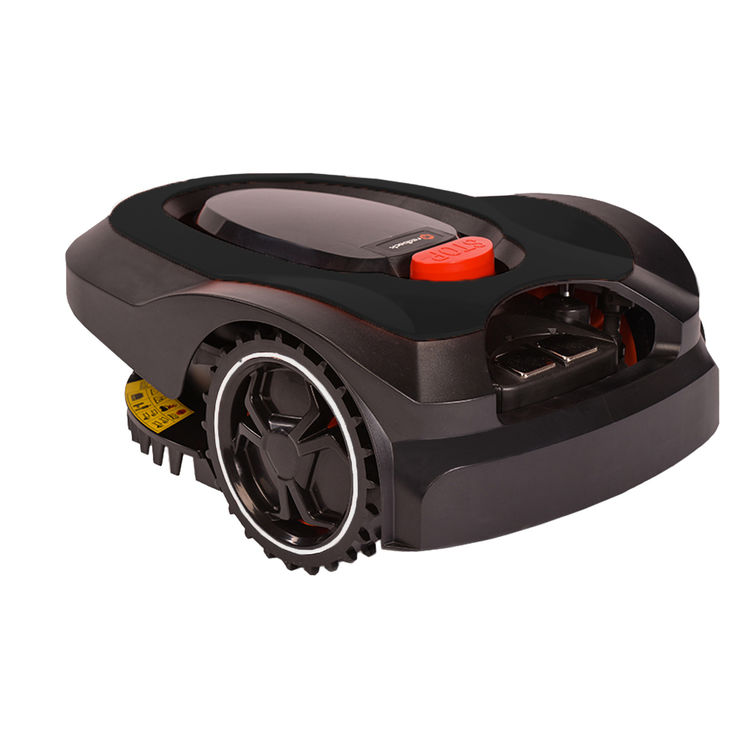View 3 of   MowRo RM18- BLACK ROBOT LAWN MOWER WITH INSTALL KIT 28 VOLT 2.0AMP BATTERY