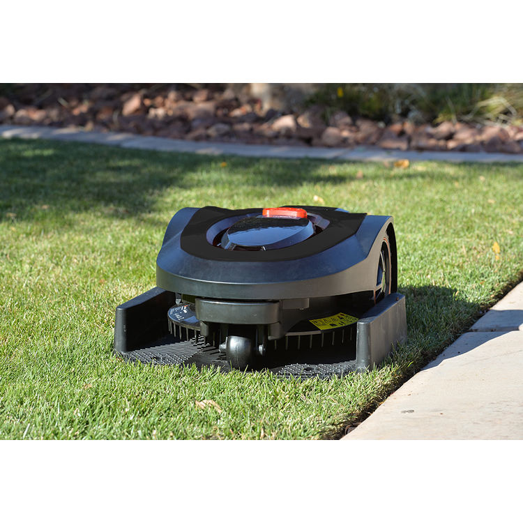 View 10 of   MowRo RM18- BLACK ROBOT LAWN MOWER WITH INSTALL KIT 28 VOLT 2.0AMP BATTERY