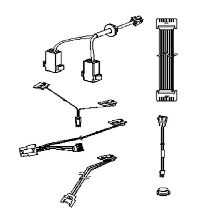 View 2 of MowRo RM18-16 MowRo RM18-16 Harness Assembly for RM18