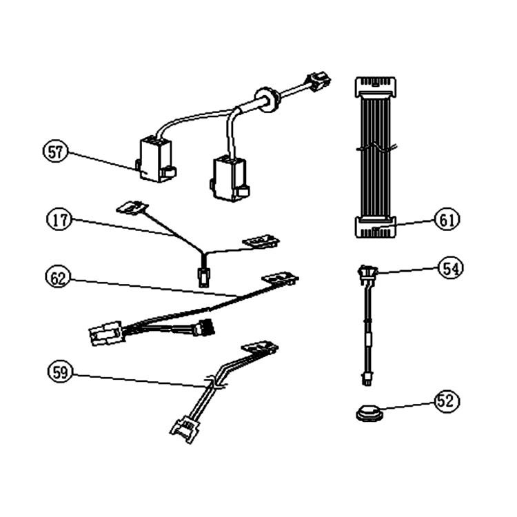 View 3 of MowRo RM18-16 MowRo RM18-16 Harness Assembly for RM18