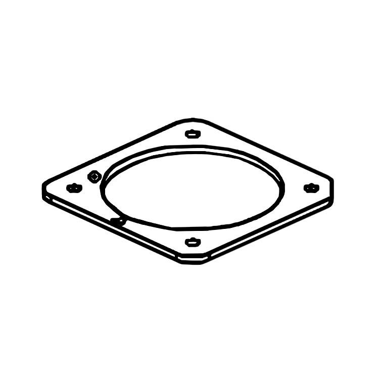 MowRo RM18-17 MowRo RM18-17 Height Adjustment Press Plate for RM18