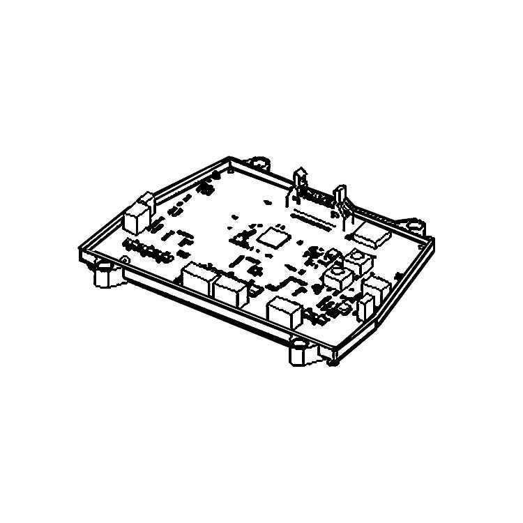 View 2 of MowRo RM24A-14 MowRo RM24A-14 Main PCB Assembly for RM24